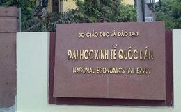 Kết luận nhiều 'lùm xùm' về Đại học Kinh tế quốc dân