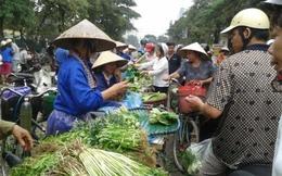 Hà Nội gom hàng tránh bão, rau xanh tăng giá gấp 3