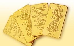 Vàng SJC bán ra thấp nhất gần ba năm qua