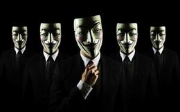 Nhóm tin tặc Anonymous tấn công máy tính của chính phủ và quân đội Mỹ