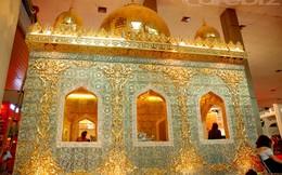 Nội thất dát vàng, tượng gỗ trị giá hơn 1 tỷ đồng tại triển lãm VietBuild 2013