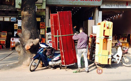 Xe ôm Vip có thu nhập hàng chục triệu mỗi tháng ở Hà Nội