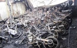 TPHCM: Cháy kinh hoàng, hàng trăm xe máy bị thiêu rụi