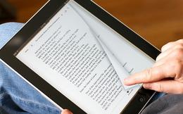 Sách điện tử ngày càng bán chạy hơn sách giấy