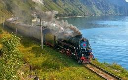 Tuyến đường sắt xuyên Siberia: Tuyệt phẩm của kỹ nghệ xây dựng