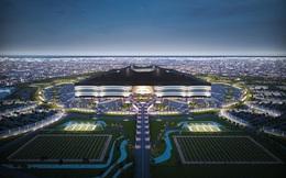 Hình ảnh sân vận động tương lai phục vụ cho World Cup 2022 tại Quatar
