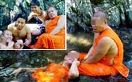 Thái Lan chấn động vì loạt ảnh phóng túng của các nhà sư