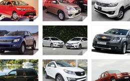 Những xe bán chạy và ế ẩm nhất trong tháng 7 tại Việt Nam