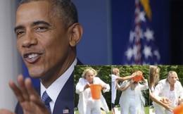 Mỹ cấm quan chức ngoại giao chơi đổ nước đá lên đầu