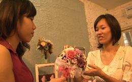 Bí quyết thu 200 triệu đồng/tháng của cô chủ cửa hàng hoa khô 8X