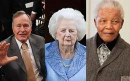 Bush, Mandela, Thatcher đón Giáng sinh trong bệnh viện