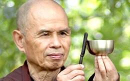Thiền sư Thích Nhất Hạnh chia sẻ với doanh nhân