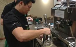 Tận mắt xem nghệ nhân Starbucks pha chế tại Sài Gòn