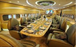 Boeing 747 - 'Nhà trên trời' siêu xa xỉ của Hoàng tử Ả Rập