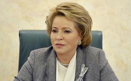 Mỹ đóng băng tài sản Chủ tịch Thượng viện Nga