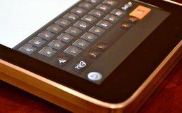 """Bàn phím """"ảo"""" trên Tablet sắp biến thành bàn phím thực?"""
