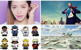 [Nổi bật] 'Phù thủy make-up' gốc Việt lừng danh Youtube, 4 ngành 'hot' nhất năm 2014