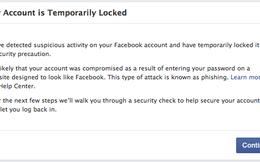 Hàng loạt người dùng Việt Nam bị Facebook yêu cầu thay đổi mật khẩu