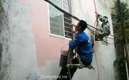 Gần Tết, thợ sơn nhà kiếm bạc triệu mỗi ngày