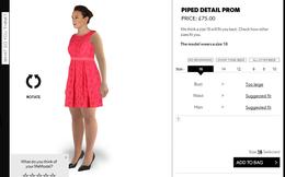 'Thử đồ' 3D: Shopping thời công nghệ cao