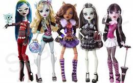 Barbie Girl: Hết thời gái xinh, giờ trẻ con chuộng quái vật