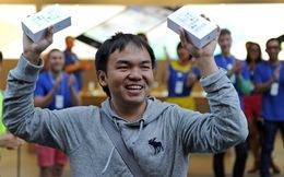 iPhone 5S và 5C chính thức lên kệ