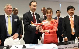 VietJetAir chính thức kí hợp đồng mua 63 máy bay Airbus trị giá 6,4 tỷ USD
