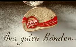 Quảng cáo bánh mỳ độc đáo bằng nghệ thuật vẽ tranh cát