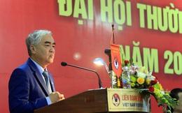 Ông Lê Hùng Dũng trúng cử chủ tịch VFF