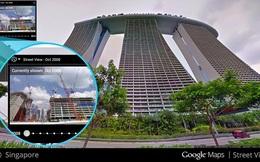 """Google Street View có thêm tính năng """"cỗ máy thời gian"""""""