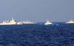 Phát hiện 2 tàu Trung Quốc trang bị tên lửa đối không