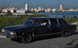 Limousine cũ của Chủ tịch Fidel Castro thành... taxi VIP