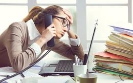 [Infographic] Những con số giật mình về stress nơi công sở