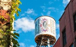 Nghệ thuật trang trí bể chứa nước tại New York