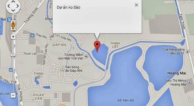 Hà Nội: Công bố quy hoạch khu chức năng đô thị Ao Sào